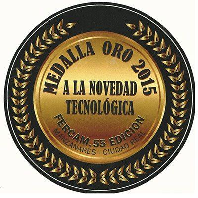 Solano Horizonte, medalla de Oro a la novedad tecnológica 2015