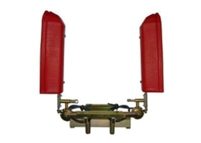 Barra interfila manual doble 4 jets