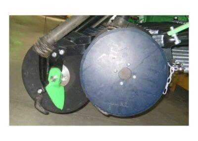 Brazos de siembra independientes en dos filas con disco en SNE D
