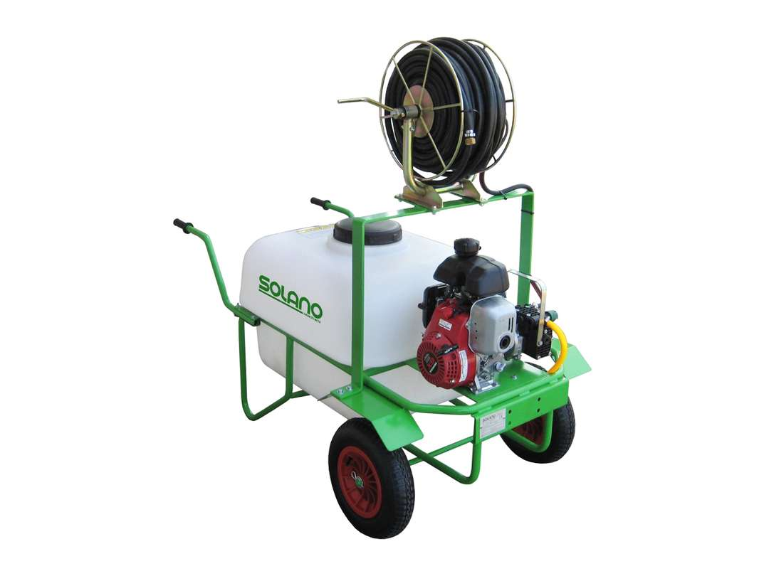Carretilla pulverizadora 2 ruedas