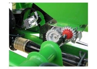 Dosificador semilla inox en sembradora neumática