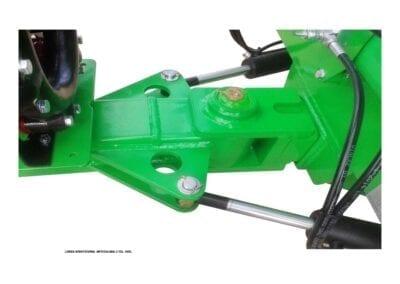 Lanza direccional articula 2 cilindros hidráulicos