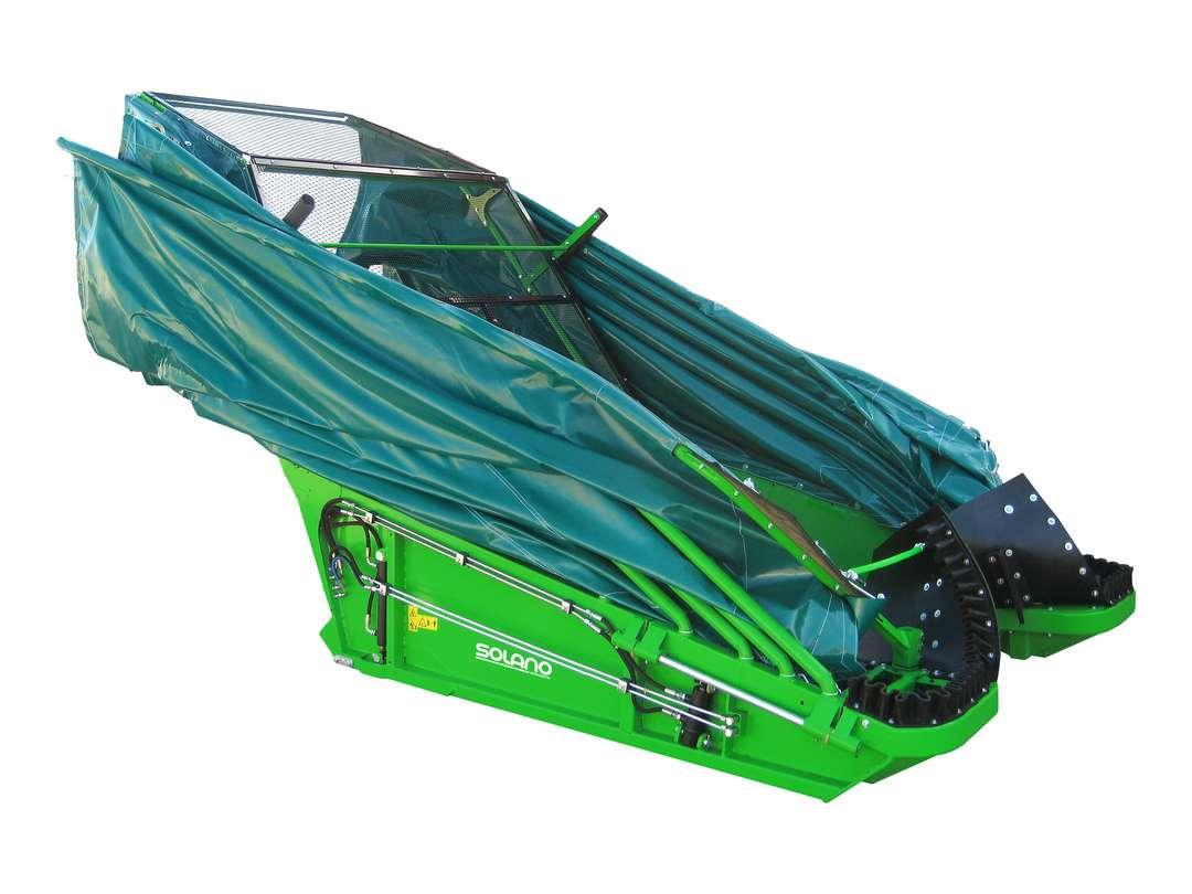 Paraguas recolector oliva
