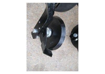 Rascador quitabarros rueda compactadora