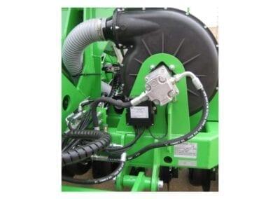 Turbina neumática alimentada con central hidráulica independiente